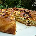 <b>Tarte</b>-flan provenal