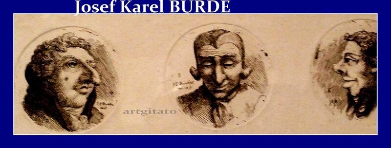 Josef Karel Burde Caricatures 1