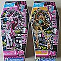 Lot de 2 Puzzle Monster High Cleo de Nile et Draculaura Clementoni neuf