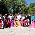 L'école Taurine de Béziers en tienta chez Granier