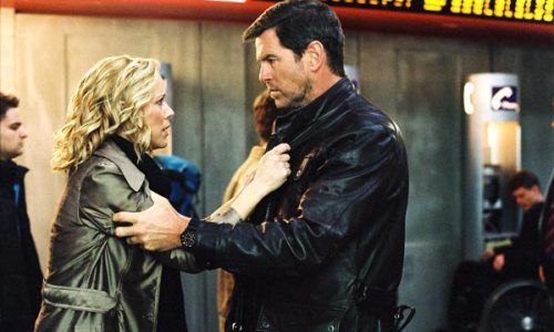 Maria Bello et Pierce Brosnan