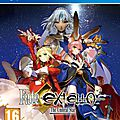 Test : Fate/Extella : The Umbral Star