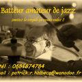 Batteur de jazz - Patrick HOLBECQ