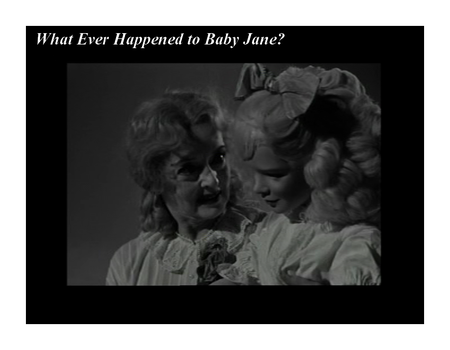 Robert Aldrich What Ever Happened to Baby Jane (4)