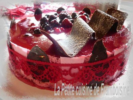 recettes  Bavarois aux fruits rouges