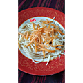 Spaghettis aux 3 <b>fromage</b> rapido