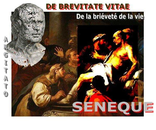 Sénèque De brevitae Vitae Argitato De la briéveté de la vie