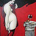 Les Callipyges de Tatieva, peinture au féminin