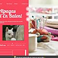 Laine d'Alpaga - couleurs nature