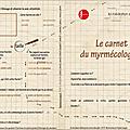 Fourmis : nos carnets de myrmécologues