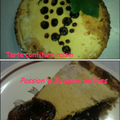 Tarte à la confiture de raisin