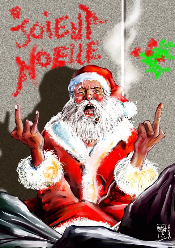 Père Noël sdf