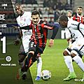 But Mounie Nice vs <b>Montpellier</b> 0-1