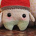 Peter champignon lalylala crochet