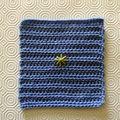 Carré <b>crochet</b> <b>facile</b> 017