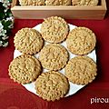 Biscuits légers à la maïzena et aux amandes