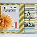 you are simply unforgettable card