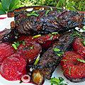 Travers de porc aux <b>prunes</b>