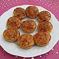 Mini flans bacon / champignons