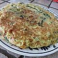 Trouchia (omelette de blettes)
