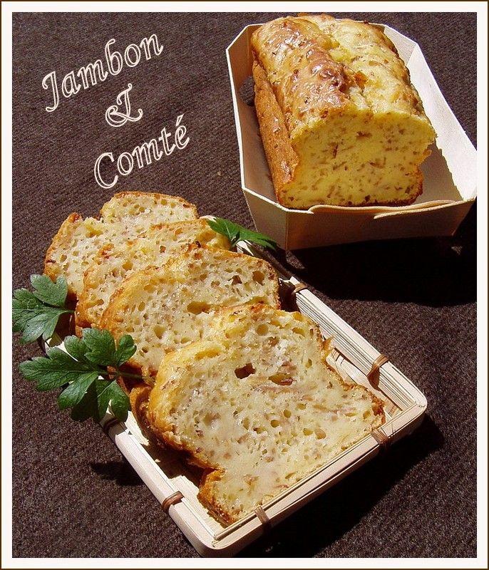 Cake Thermomix Jambon Gruyere Lardon