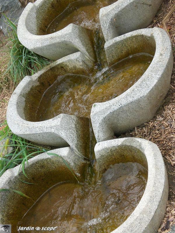 Vasques vives pour un assainissement biologique (phyto-épuration)