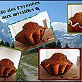Tourte des pyrénées aux myrtilles