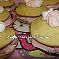 Whoopies aux marschmallows