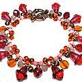 Bracelet La Fée Clochette Fushia