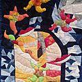 Exposition patchwork à ballancourt-sur-essonne