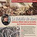 21 janvier 2017 : conférence d'élodie cabot sur les fouilles des charniers du mans