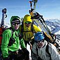Raid <b>Oberland</b> <b>Bernois</b> Jour 3: Hinter Fiescherhorn