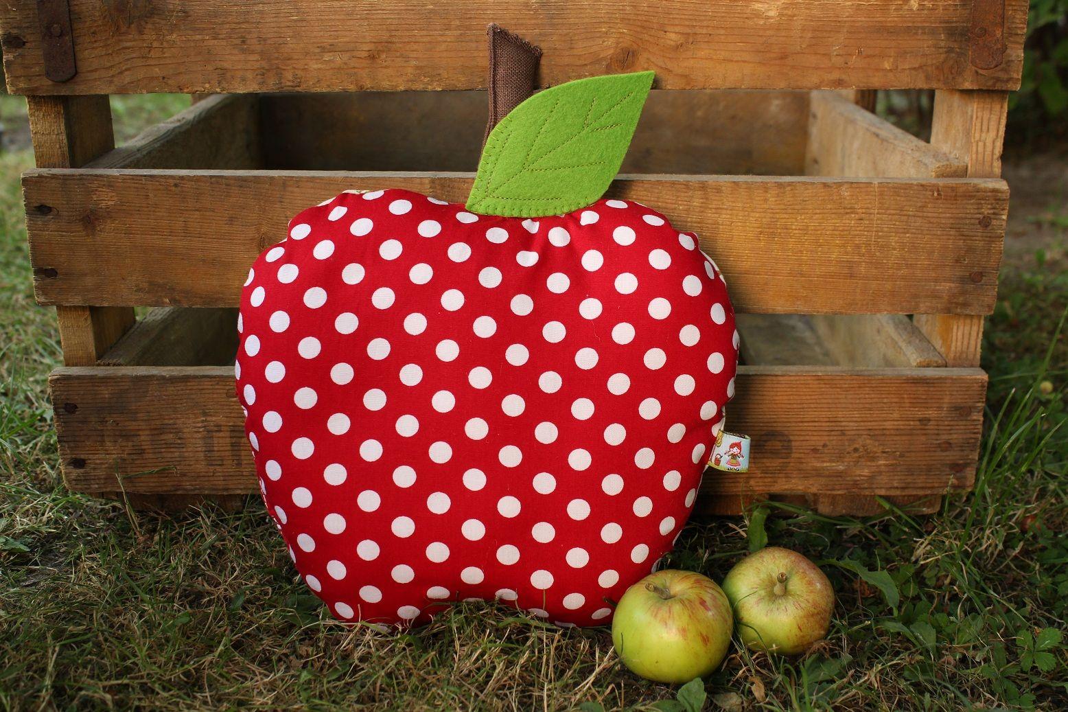 Coussin Pomme/ Apfel Kissen