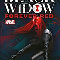 Black widow 'forever red'