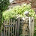 jardin barrière emprunté sur le net