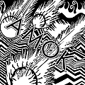 Pochette probable pour le premier album d'atoms for peace.