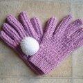 Après les mitaines, des gants.