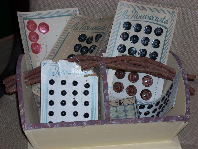 Plaquettes boutons