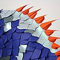 Création de sculptures en papier / animaux en papier pour l'événement
