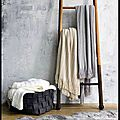 Plaid de Canapé - Fine Cable Knit Throw - <b>UGG</b> Australia