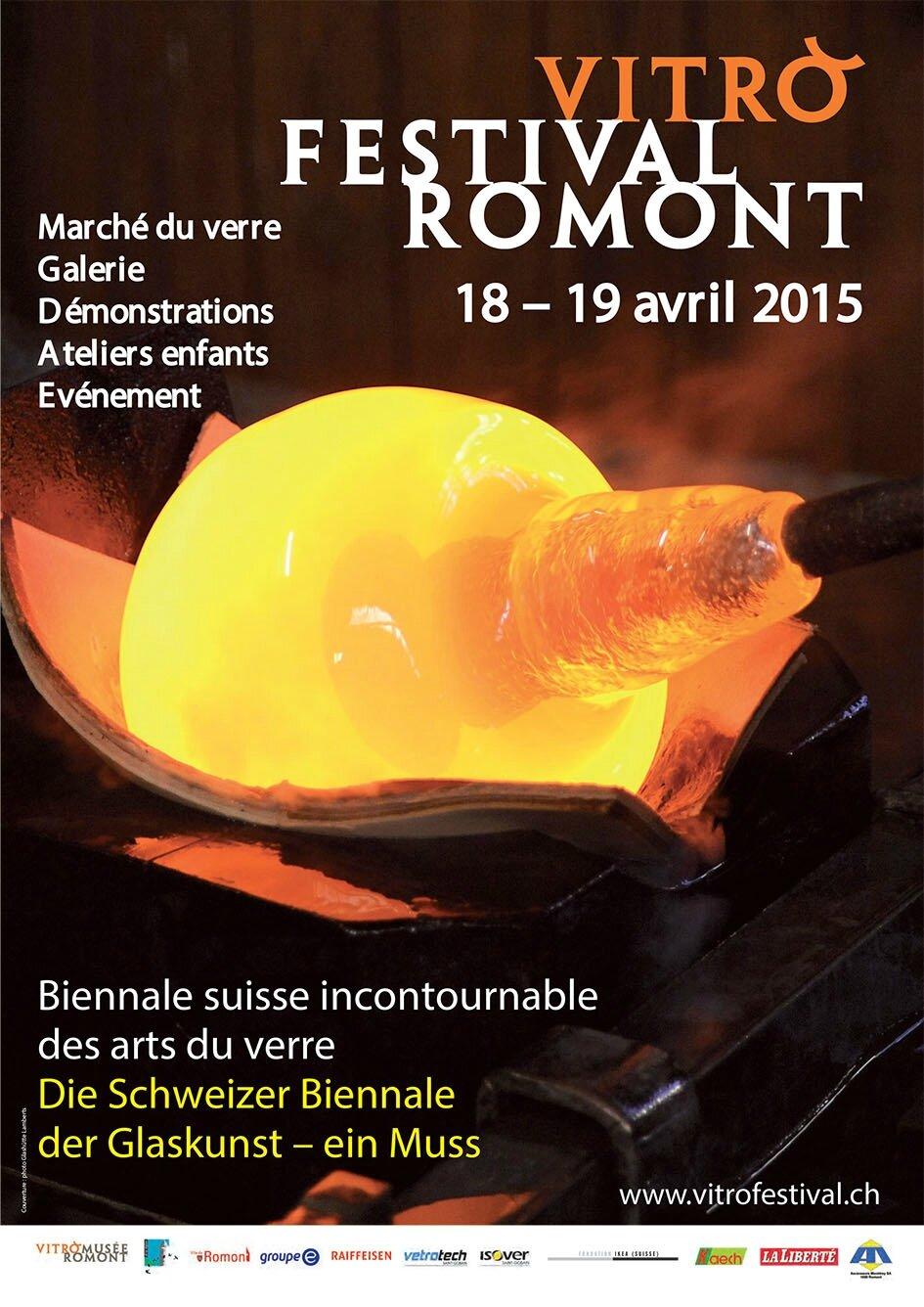 VITROFESTIVAL DE ROMONT, AVRIL 2015