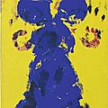 Yves Klein (1928 - 1962), Untitled Anthropometry (ANT 114), <b>1960</b>