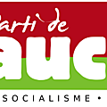 Logo du PG : écologie, socialisme, république