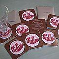 Thème Bistro Girly : les <b>cartons</b> <b>d</b>'<b>invitation</b>