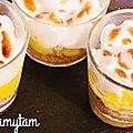🍋 pep's soleil et citrons : mes verrines façon tarte au citron..meringuée 🍋
