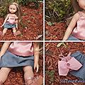 [vêtement de poupées n°4] une nouvelle tenue pour camille
