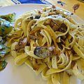 Tagliatelles aux sardines et au fenouil à la mode sicilienne
