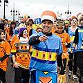 Reportage Photo - Le Carnaval des Deux rives de Bordeaux a une nouvelle fois fait vibrer la ville et ses <b>ponts</b> !