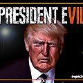 President evil trump
