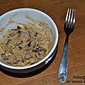 Aubergine grillée au beurre de cacahuète